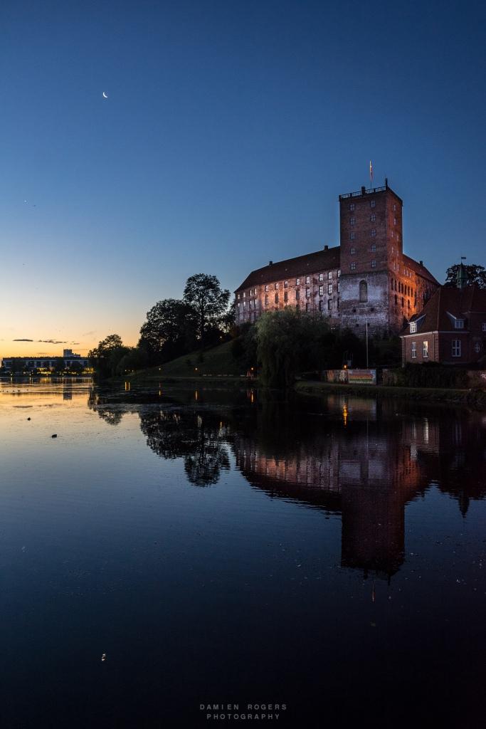 Sunset over Koldinghus